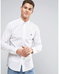 Polo Ralph Lauren Poplin Shirt Slim Fit White
