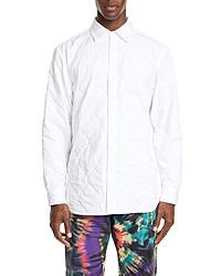Dries Van Noten Quilted Button Up Shirt