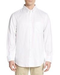 Emporio Armani Regular Fit Solid Cotton Sportshirt