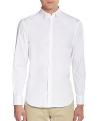 Emporio Armani Regular Fit Stretch Cotton Sportshirt