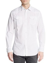 Diesel Regular Fit Sulfuris Cotton Sportshirt