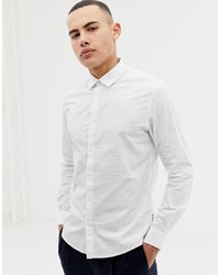 ONLY & SONS Shirt In Slim Fit With Fleck Print