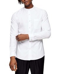 Topman Skinny Fit Button Up Oxford Shirt