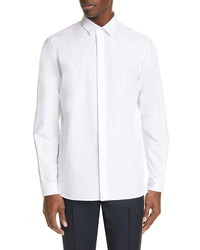 Valentino Slim Fit Embroidered Button Up Shirt