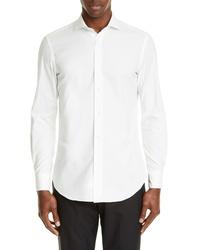 Boglioli Slim Fit Solid Sport Shirt