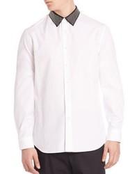 Alexander McQueen Studded Collar Sportshirt