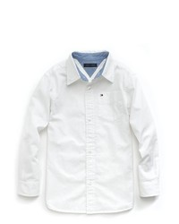 Tommy Hilfiger Solid Oxford Woven Shirt