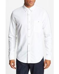 Topman Oxford Cloth Shirt White Small