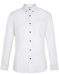 Topman White Button Down Long Sleeve Smart Shirt