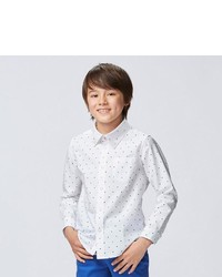 Uniqlo Boys Oxford Long Sleeve Shirt