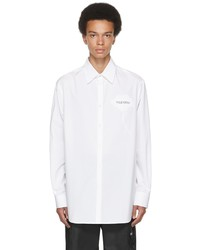 Valentino White Black Garden Shirt