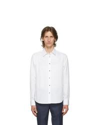 Paul Smith White Charm Button Shirt