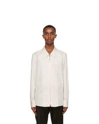 Ermenegildo Zegna Couture White Cotton Shirt