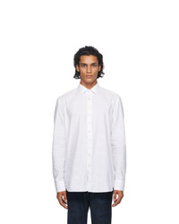 Etro White Embroidered Detail Shirt