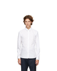 Hugo White Ero3 Slim Fit Shirt