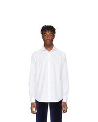 Paul Smith White Jacquard Goliath Shirt