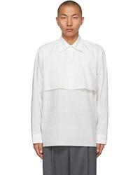 Ader Error White Layered Shirt