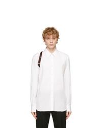 Alexander McQueen White Logo Harness Shirt