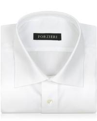 Forzieri White Non Iron Cotton Dress Shirt