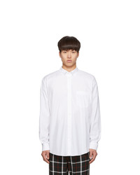 Balenciaga White Normal Fit Shirt