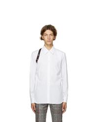 Alexander McQueen White Organic Cotton Harness Shirt