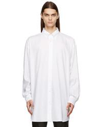Maison Margiela White Organic Dcortiqu Oxford Shirt