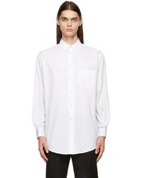Maison Margiela White Organic Dcortiqu Patch Pocket Shirt