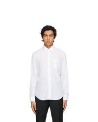Maison Margiela White Poplin Memory Of Shirt
