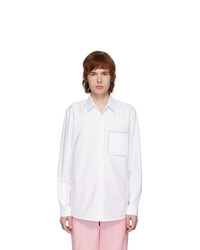 Burberry White Poplin Shirt