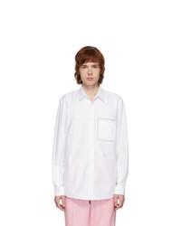 Burberry White Poplin Shirt