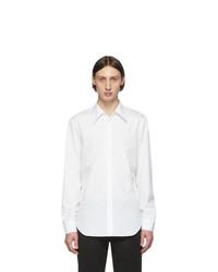 Maison Margiela White Poplin Slim Fit Shirt
