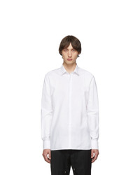 Lanvin White Ruffle Shirt