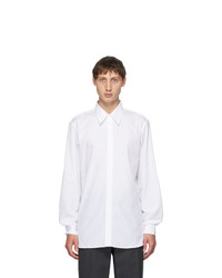 Dries Van Noten White Straight Shirt