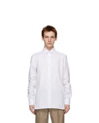 Ermenegildo Zegna White Tailored Shirt