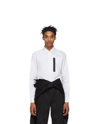 Random Identities White Zip Up Shirt
