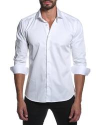 Jared Lang Woven Sport Shirt White
