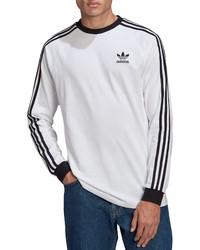 adidas 3 Stripes Long Sleeve Graphic Tee