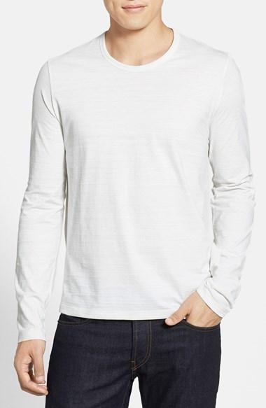 b2e434e7f0a81c Hugo Boss Boss Pisa Flame Long Sleeve Crewneck T Shirt, $95 ...