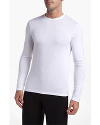 Calvin Klein U1139 Micromodal Long Sleeve T Shirt White Large