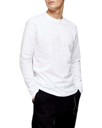 Topman Classic Long Sleeve Cotton T Shirt