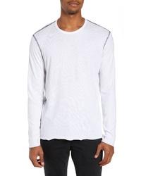 rag & bone Contrast Stitch Long Sleeve T Shirt