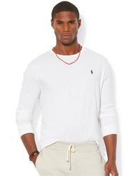 ... Polo Ralph Lauren Custom Fit Long Sleeved Jersey Crew Neck T Shirt 65682fe12fe