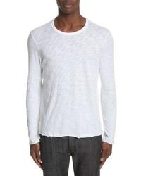 ATM Anthony Thomas Melillo Destroyed Long Sleeve T Shirt