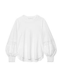 See by Chloe Ed Cotton Jersey Sweatshirt
