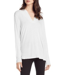 Michael Stars Gathered V Neck Top