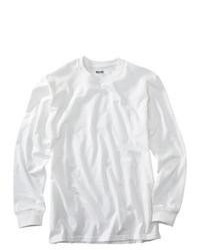 Jerzees Long Sleeve Tee White L