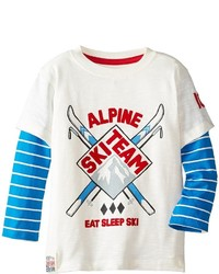 Hatley Kids 2 In 1 Tee Ski Team