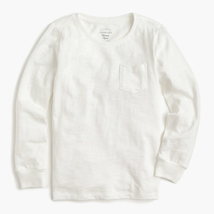 J.Crew Kids Long Sleeve Gart Dyed T Shirt