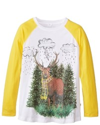 Stella McCartney Kids Max Reindeer Raglan T Shirt