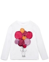 def5bc5a907d Girls' White T-shirts by Gucci | Girls' Fashion | Lookastic.com